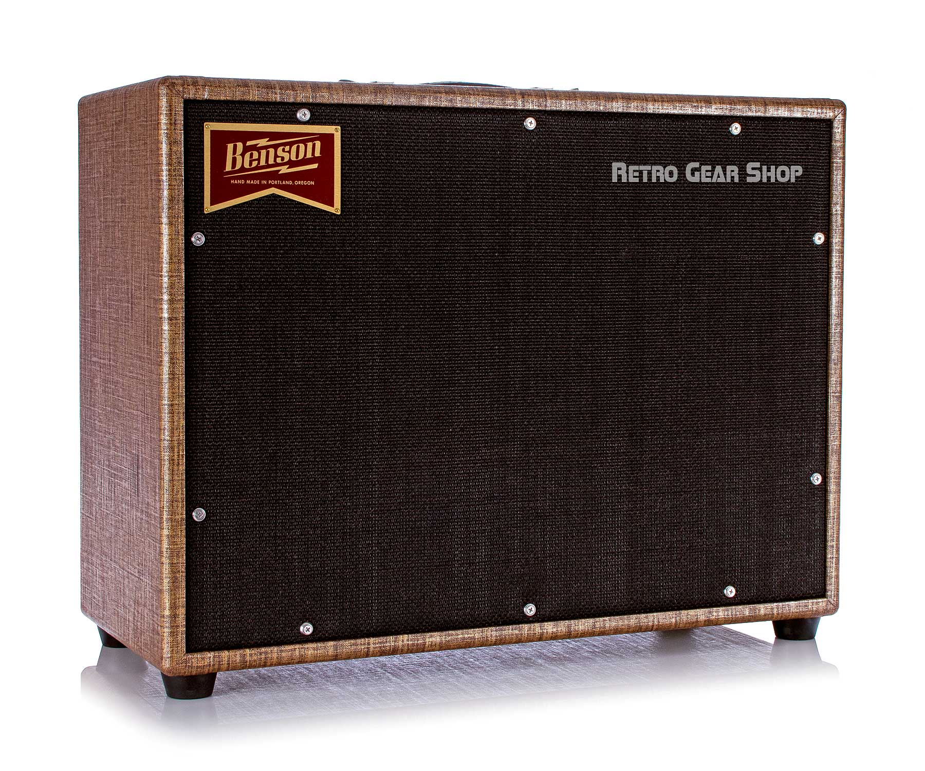 Benson Monarch Reverb Combo 1x12 Custom Rust Moves Tube Amplfiier 15W