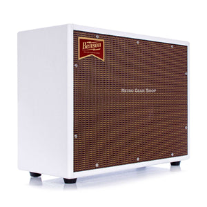 Benson Monarch Reverb Combo 1x12 Custom White Oxblood Tolex Boutique
