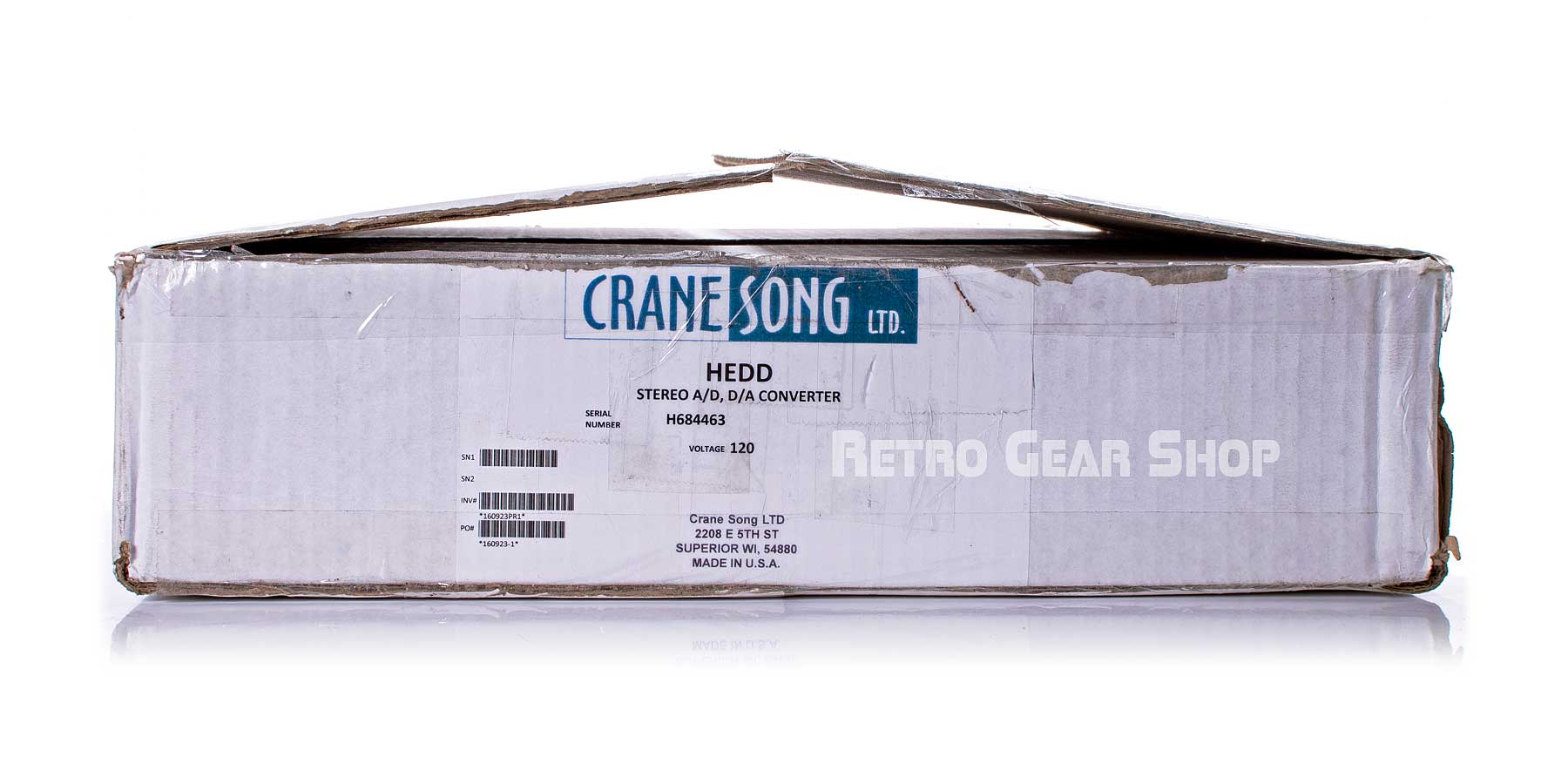 Crane Song HEDD 192 Box