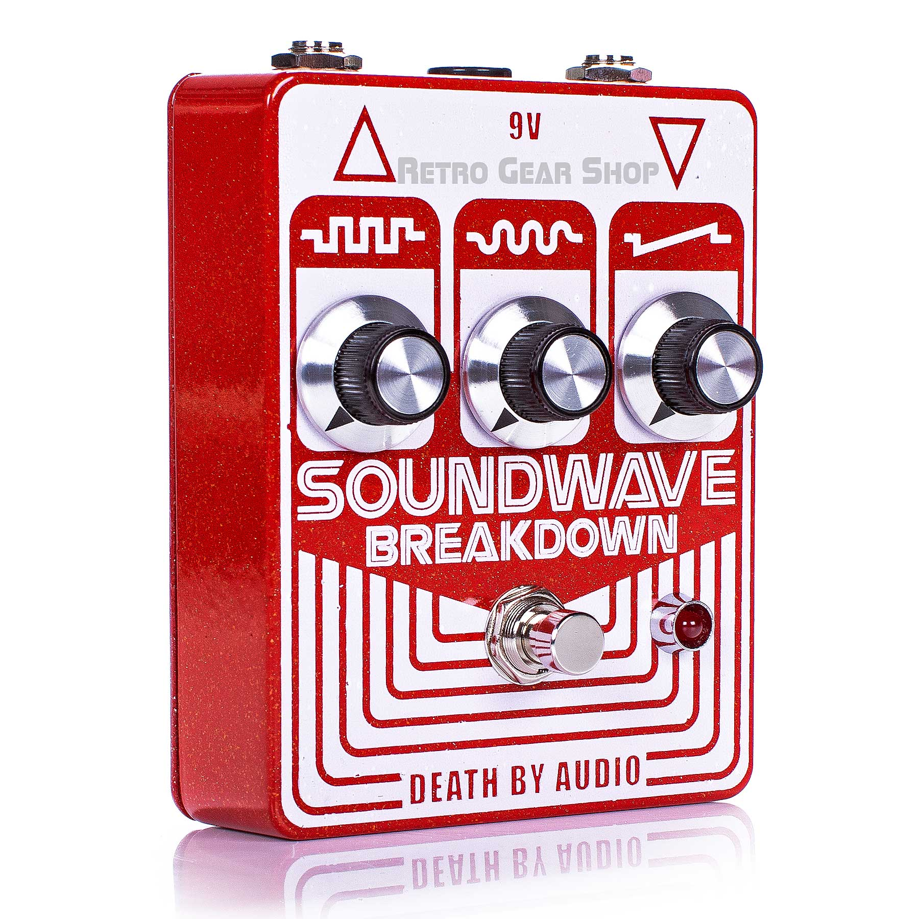 Death By Audio Soundwave Breakdown Guitar Effect Pedal Distortion Fuzz