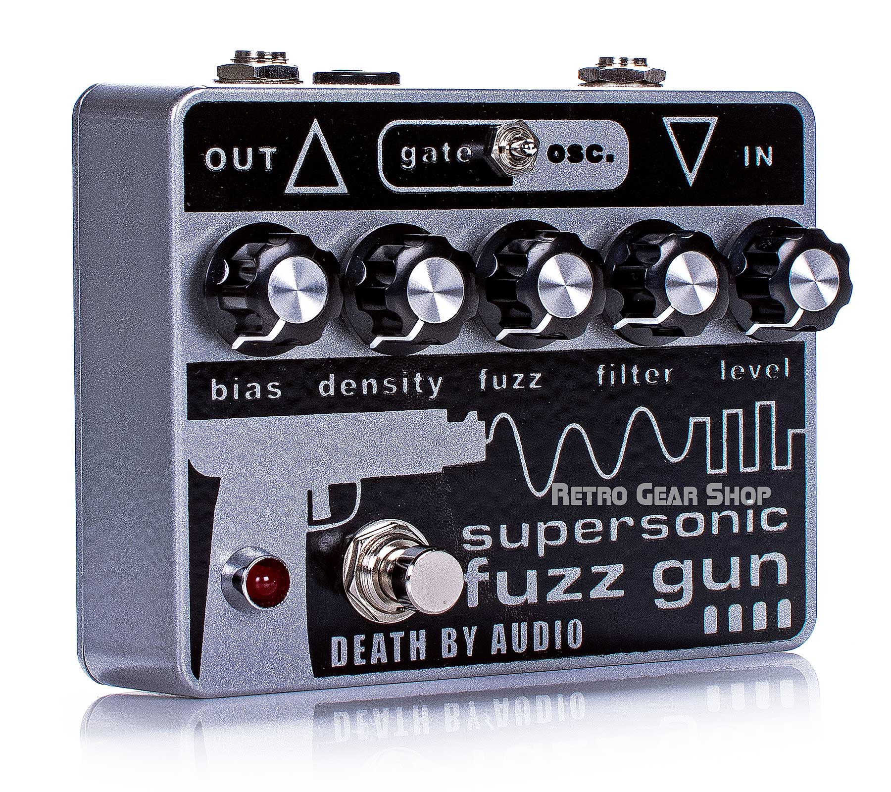Death By Audio Supersonic Fuzz Gun Fuzz