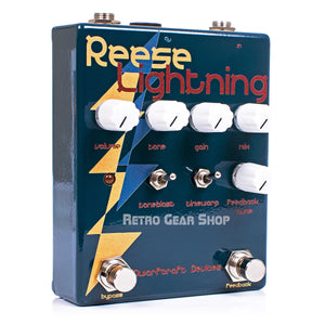 Dwarfcraft Devices Reese Lightning Fuzz Effect Pedal