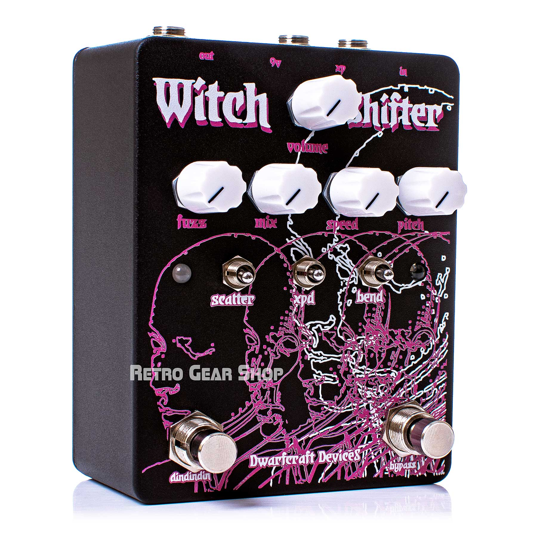 Dwarfcraft Devices Witch Shifter Pitch Effect Pedal