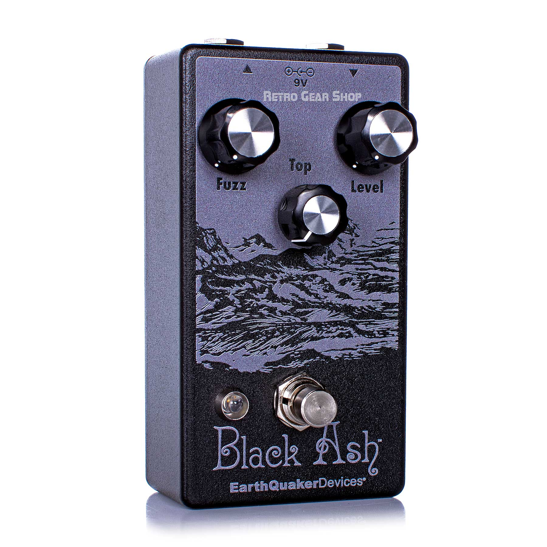 EarthQuaker Devices Black Ash Endangered Fuzz Guitar Effect Pedal Limited Edition