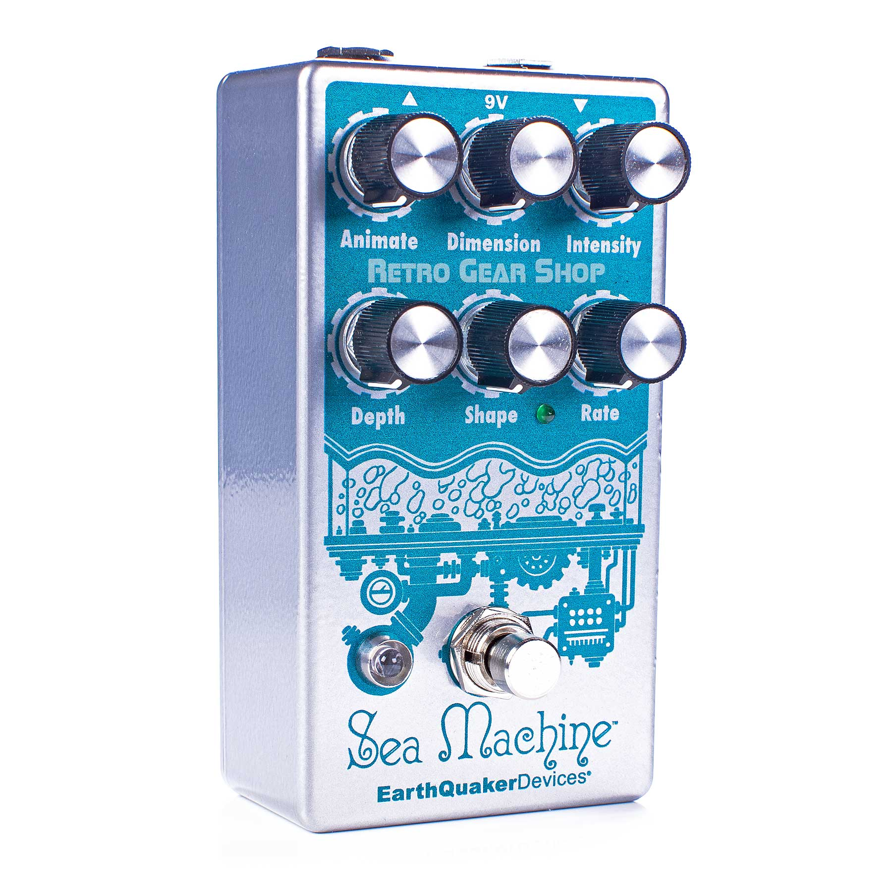 Earthquaker Devices Sea Machine V3  Super Chorus Guitar Effect Pedal