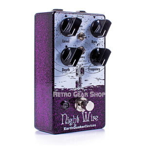 EarthQuaker Devices Night Wire V2 Harmonic Tremolo Guitar Effect Pedal