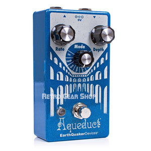 EarthQuaker Devices Aqueduct Vibrato Guitar Effect Pedal