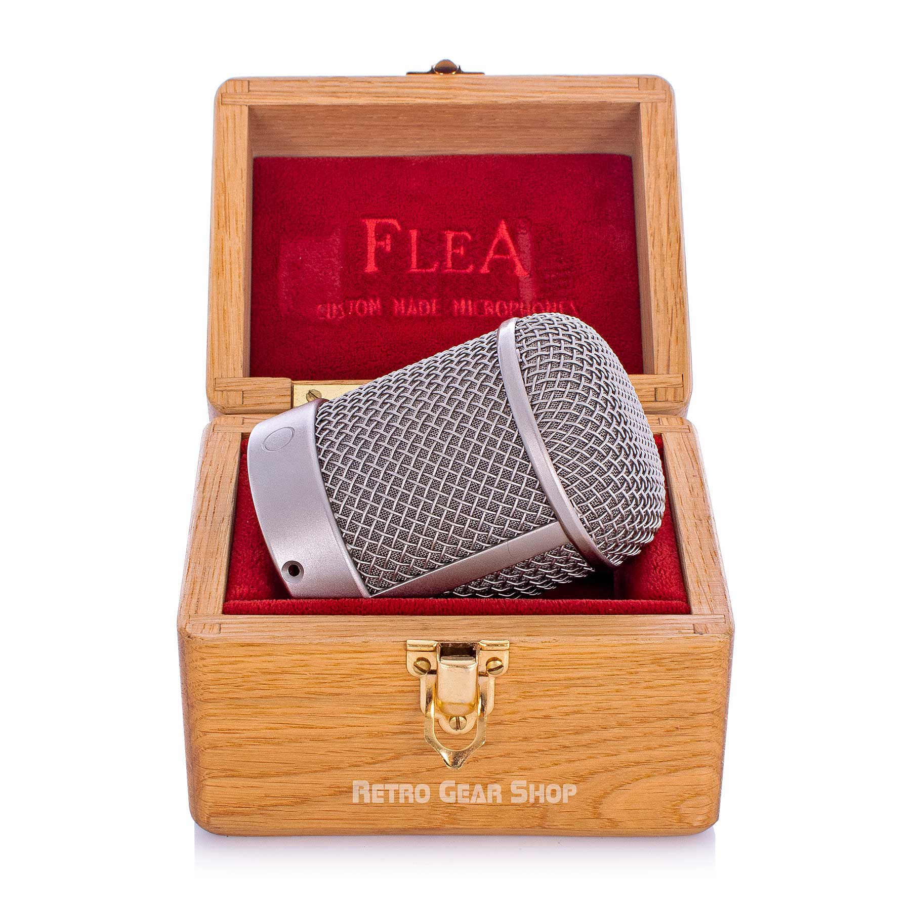 FLEA Microphones 4750 Capsule Wood Case