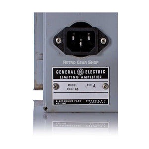 General Electric GE BA-7A Tube Limiter Serial Model