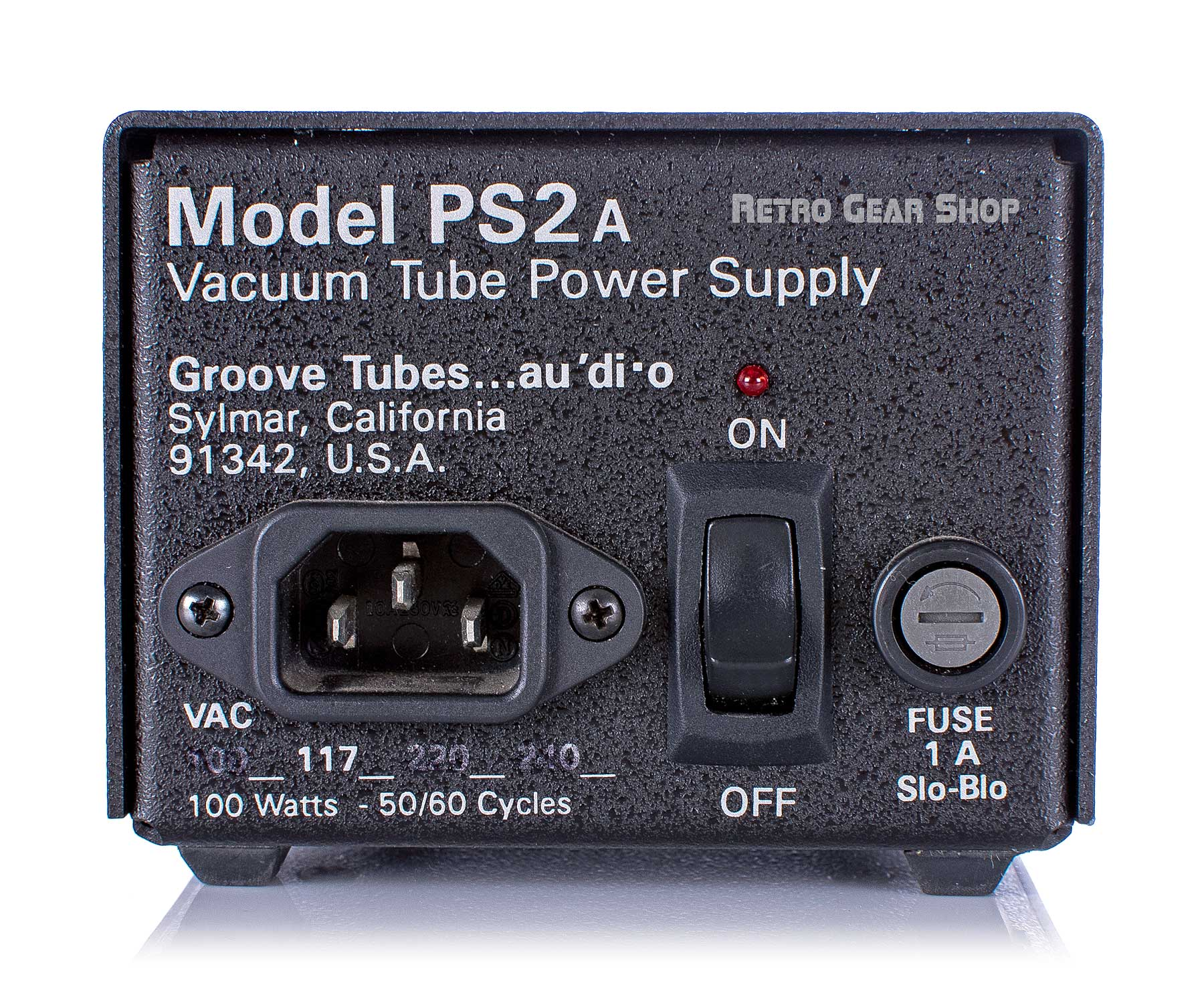 Groove Tubes Model 3 Power Supply Front