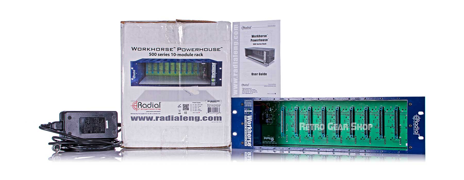 Radial Workhorse Powerhouse 10-Slot Box Power Supply User Guide