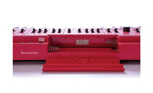 Roland SH-101 Red Serviced Battery Compartment