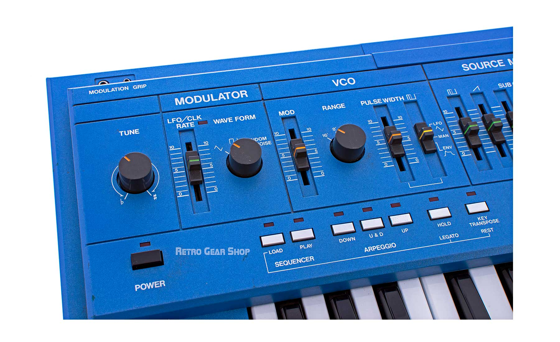 Roland SH-101 Blue Vintage Monophonic Synth