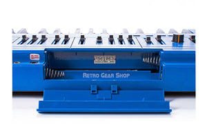 Roland SH-101 Blue Battery Compartment