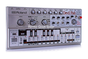 Roland TB-303 Bass Line Devilfish Upgrades Rare Analog Synthesizer
