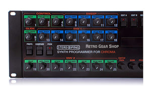 Stereoping Programmer Rhodes Chroma Knobs