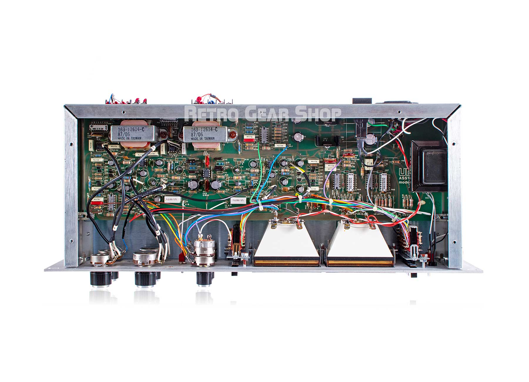 Urei 1178 Stereo Dual Peak Limiter Serviced Internals