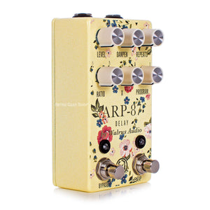 Walrus Audio ARP-87 Limited Edition Floral Series Delay Guitar Effect Pedal