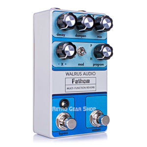 Walrus Audio Fathom Reverb Custom Retro Limited Edition Guitar Effect Pedal