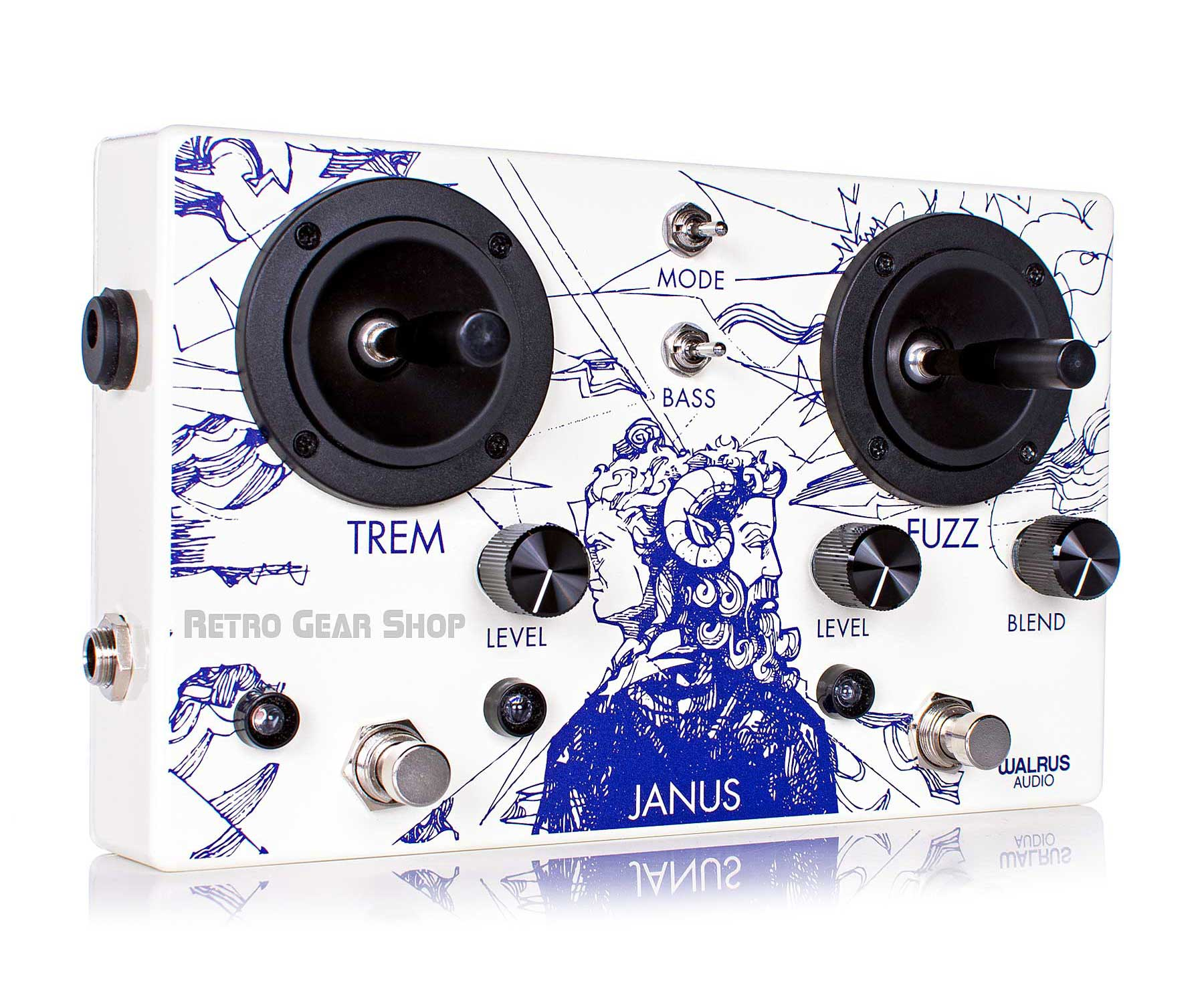 Walrus Audio Janus Fuzz/Tremolo Guitar Effect Pedal
