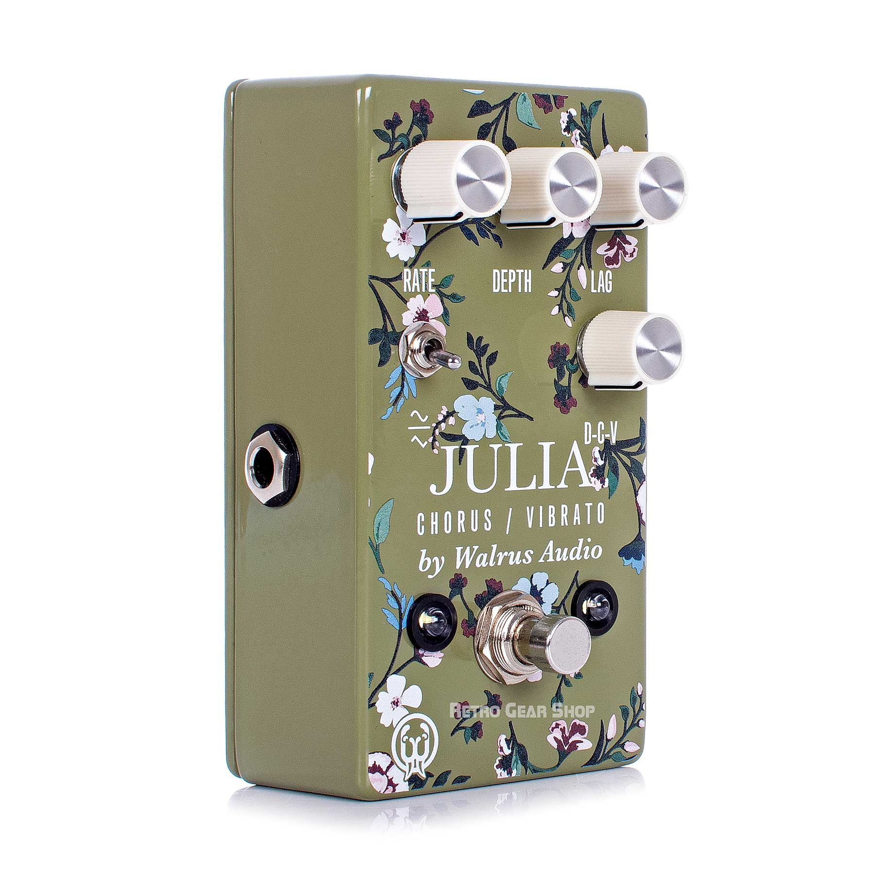 Walrus Audio Julia Analog Chorus/Vibrato Floral Series Limited Edition Guitar Effect Pedal