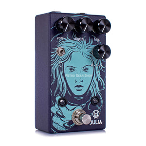 Walrus Audio Julia V2 Chorus Vibrato Analog Guitar Effect Pedal