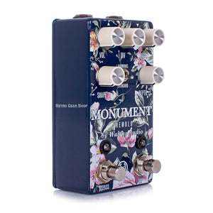 Walrus Audio Monument V2 Limited Edition Floral Series Harmonic Tap Tremolo Guitar Effect Pedal