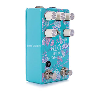 Walrus Audio Slo Floral Limited Edition Multi Texture Reverb Guitar Effect Pedal