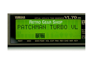 Yamaha VL70-m Patchman Turbo Chip Screen