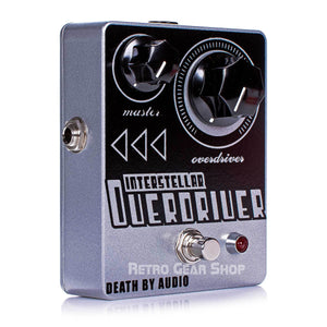 Death By Audio Interstellar Overdriver Guitar Effect Pedal Overdrive