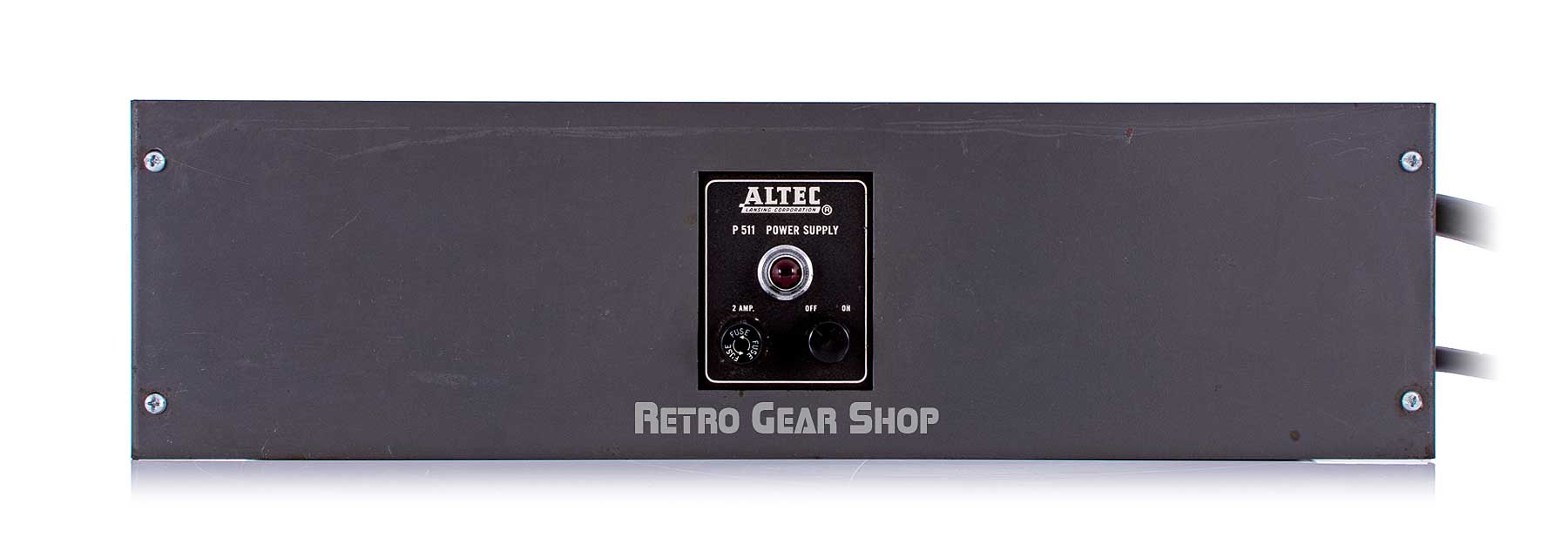 Altec 322C Grey P511 Power Supply Front