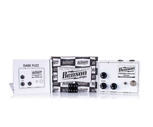 Benson Amps Germanium Solar White Fuzz Box Manual Extras