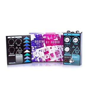 Death By Audio Micro Dream Box Manual Extras