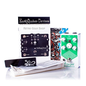 EarthQuaker Devices Arpanoid V2 Box Manual Extras
