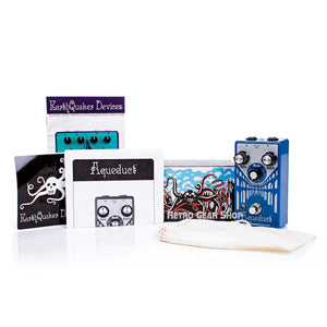 EarthQuaker Devices Aqueduct Box Manual Extras