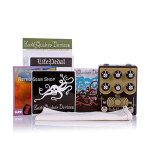 Earthquaker Devices Life V2 Box Manual Extras
