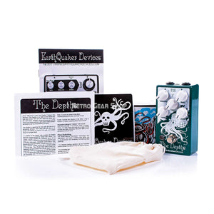 EarthQuaker Devices The Depths V2 Box Manual Extras
