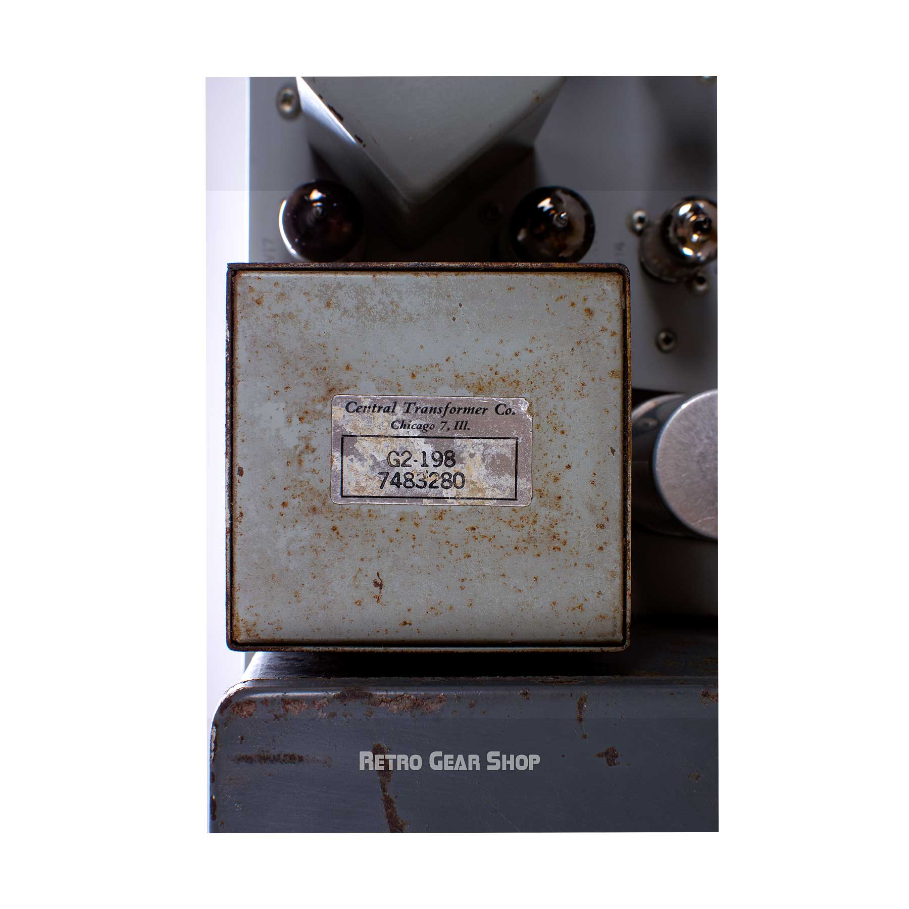 General Electric GE BA-7A Tube Limiter Transformer