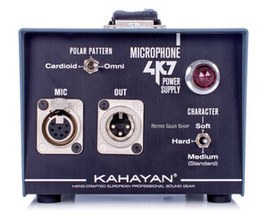 Kahayan 4K7 Microphone Power Supply Rear