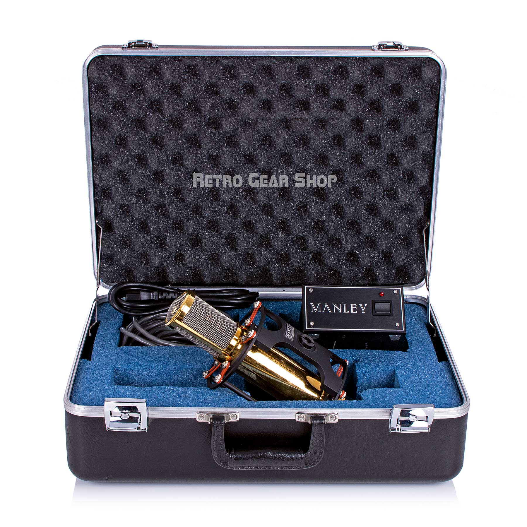 Manley Reference Gold Tube Case Open