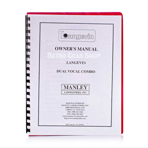 Manley Langevin DVC Manual