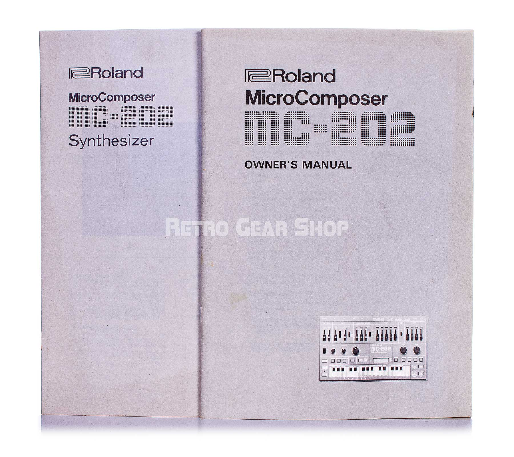 Roland MC-202 Micro Composer Original Manuals