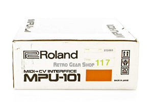 Roland MPU-101 Midi-CV Interface Original Box