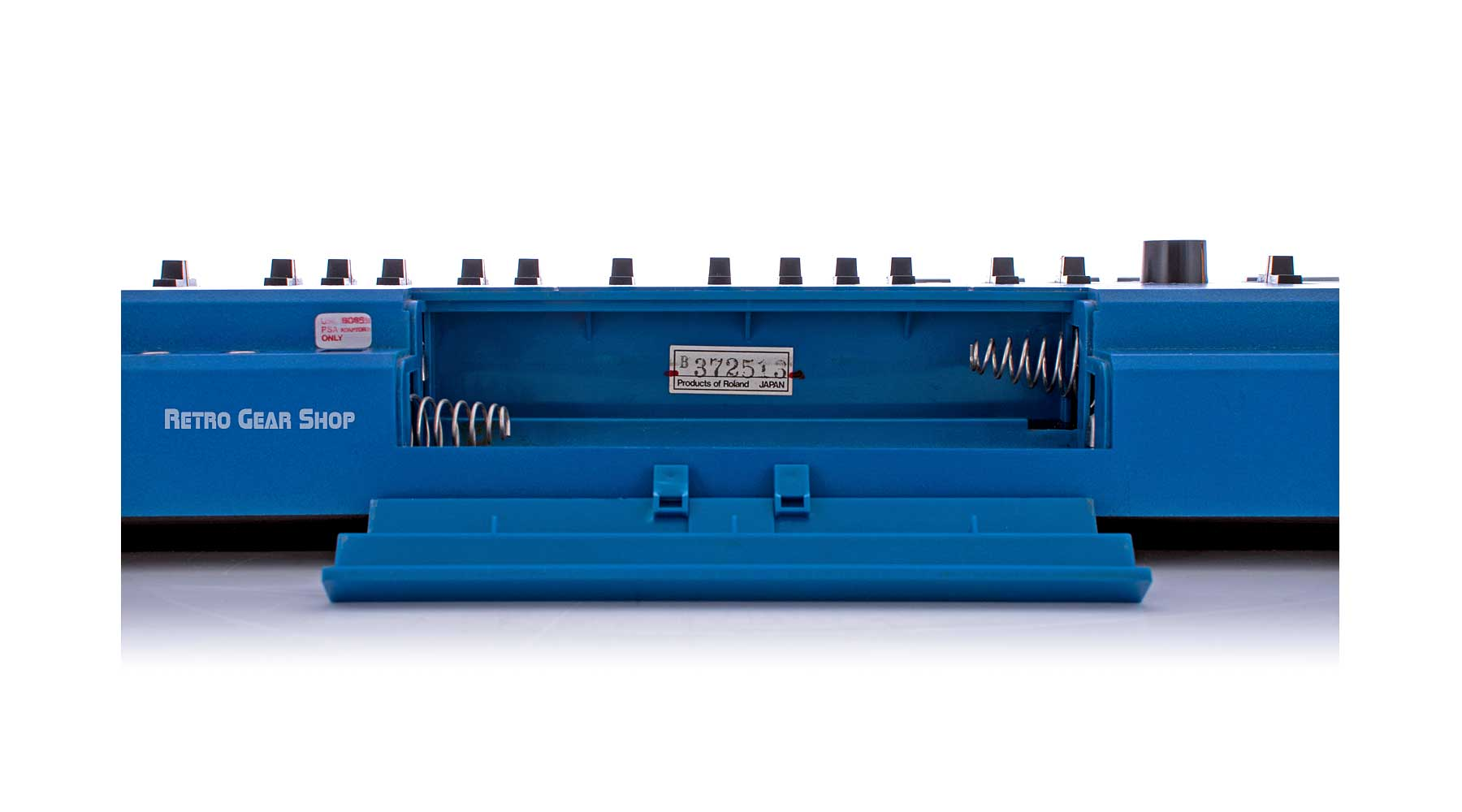 Roland SH-101 Blue Battery Compartment#372513