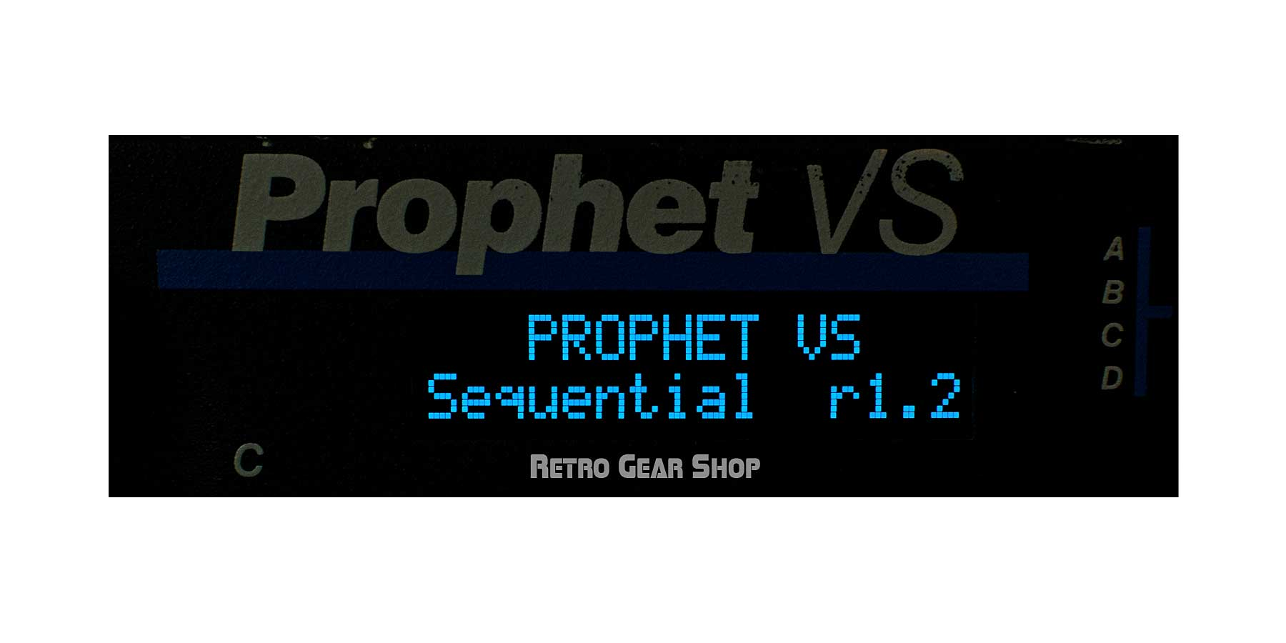 Sequential Circuits Prophet VS Rack OS Screen