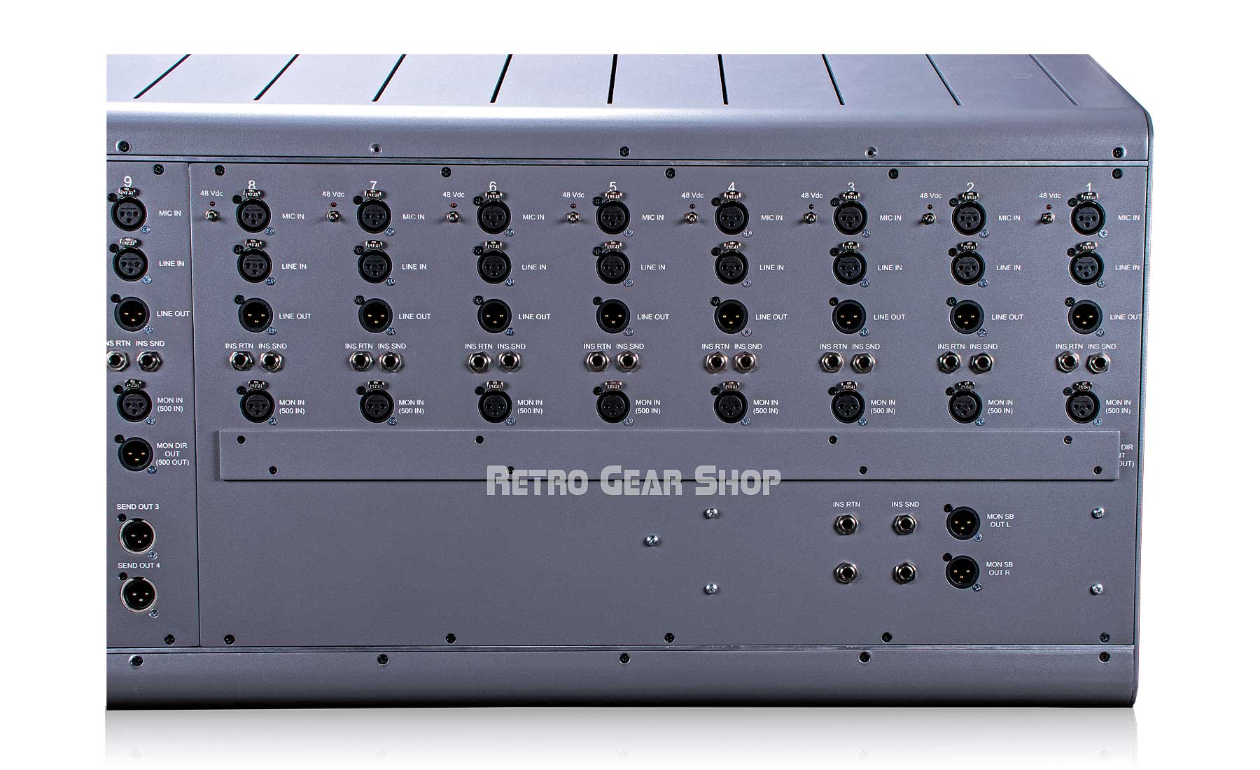 Tree Audio Roots Console 16 Channel Tube Console Rear Right