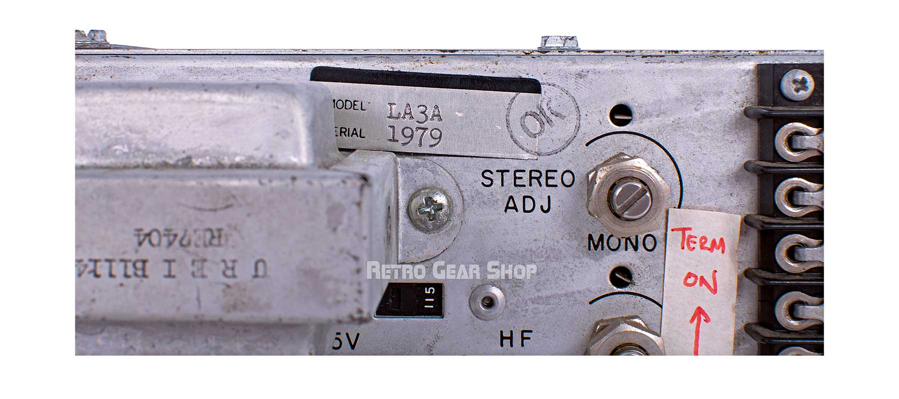 Urei LA-3A Stereo Pair Serial Number 1979