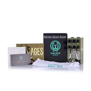 Walrus Audio Ages Box Manual Extras