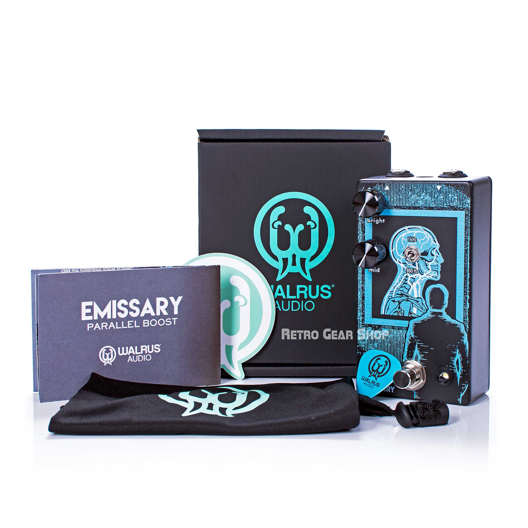 Walrus Audio Emissary Parallel Boost Box Extras Manual