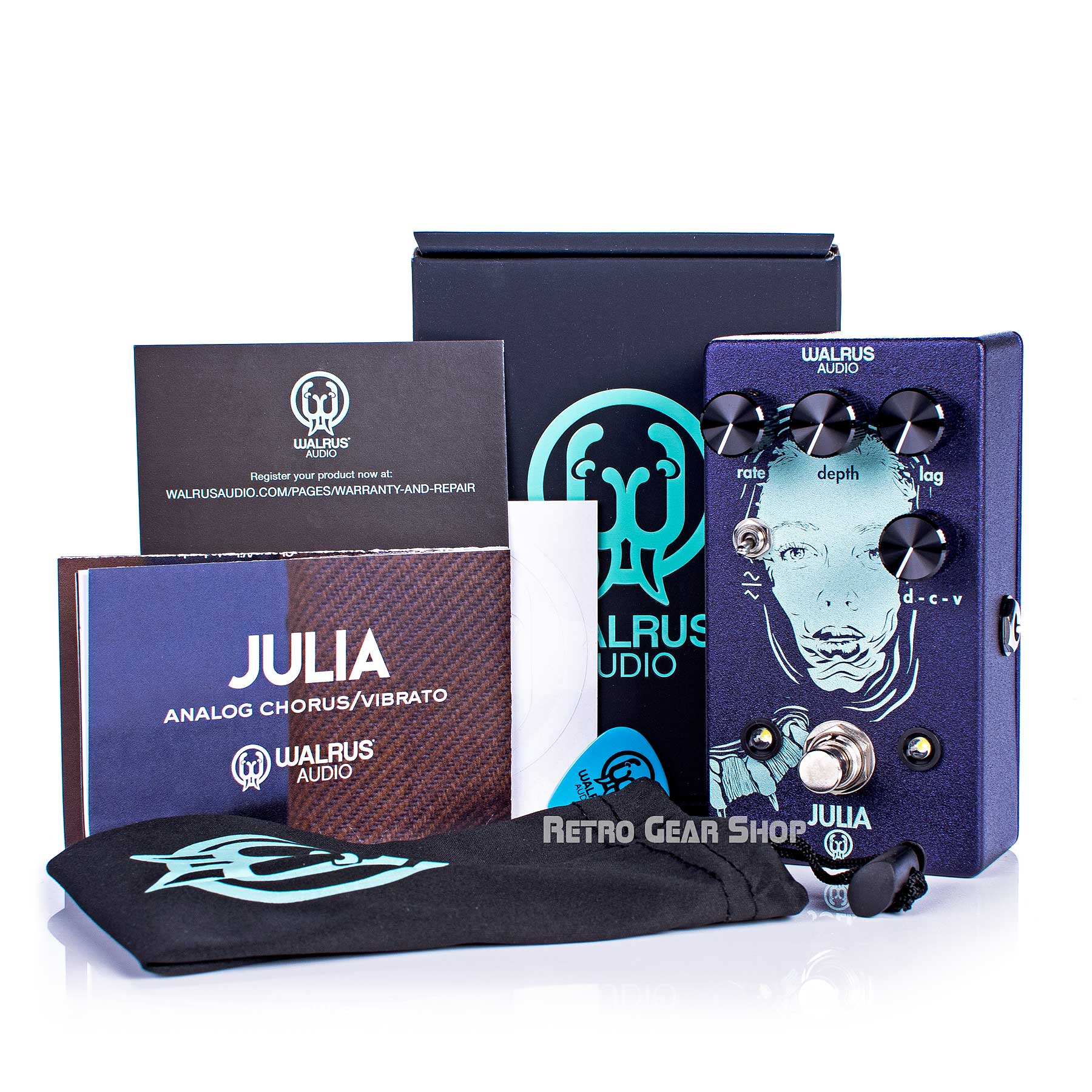 Walrus Audio Julia Box Manual Extras